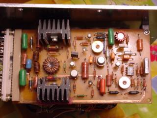 Другой фильтр срезает частоты выше 100 Гц или 160 Гц (выбирается переключателем).  Схема...  Усилитель саба делался в...